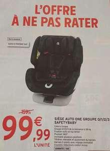 Siège auto Safetybaby One Group - 0/1/2/3, jusqu'à 36Kg