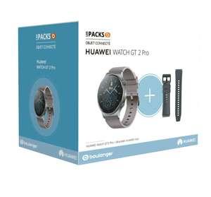 Montre connectée Huawei Watch GT 2 Pro + 1 Bracelet noir