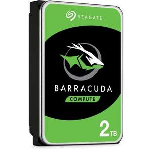 "Disque dur interne 3.5"" Seagate BarraCuda - 2 To, 7200 tr/min, SMR (ST2000DM008)"