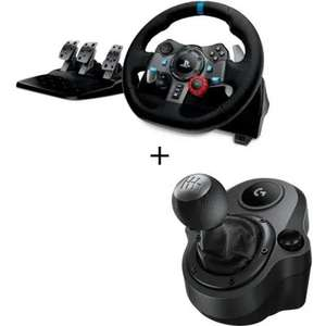 Pack Volant Logitech G29 + Levier de vitesse Driving Force Shifter