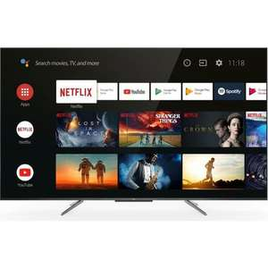 """TV 55"""" TCL 55QLED790 (2021) - QLED, 4K UHD, HDR 10+, Dolby Vision & Atmos, Android TV (+25€ à cagnotter pour les CDAV)"""