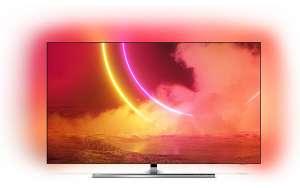 """TV OLED 55"""" Philips 55OLED855 - 4K UHD, Smart TV, Ambilight (Via retrait dans une sélection de magasins)"""