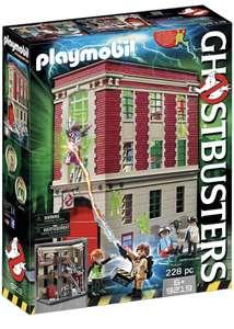 Jouet Playmobil Ghostbusters - Quartier Général Ghostbusters (9219)