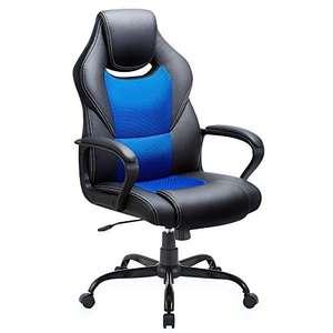 Chaise Bureau Ergonomique Basebtl - Hauteur Réglable, Dossier Inclinable (Vendeur Tiers)