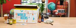 Coffret World Wide Beers - 24 bières, DLUO Courte