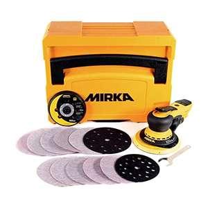 Coffret Ponceuse Mirka Deros MID5650202CA - 125/150 mm avec Accessoires