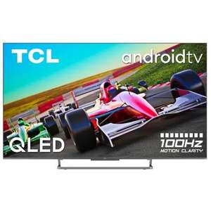 """TV QLED 75"""" TCL 75C727 - 4K UHD, Dalle 100hz, Adroid TV, Dolby Vision / Dolby Atmos"""