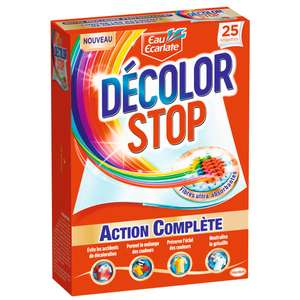 Boite de Lingettes anti-décoloration Action Complète Decolor Stop