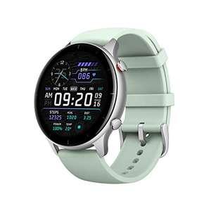 Montre connectée Amazfit GTR 2e - Ecran AMOLED, 5 ATM, Fréquence cardiaque, Mesure SpO2 - Matcha Green (Vendeur tiers)