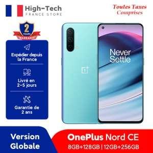 "Smartphone 6.43"" OnePlus Nord CE 5G - 8 Go de RAM, 128 Go (249€ avec le code FROCT20)"