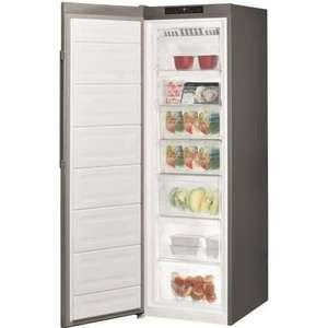 Congélateur armoire Hotpoint UH8F1CX1 - 260 L, Froid ventilé No frost, L 59,5 x H 187,5 cm - Pose libre, Inox
