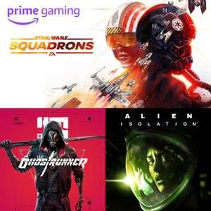 [Amazon Prime] Sélection de jeux offerts sur PC -Ex: Star Wars Squadrons (Origin), Ghostrunner (GOG), Alien Isolation (EGS) (Dématérialisés)