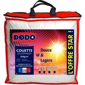 Couette DODO Douce et Légère Les Estivales - 200 gr/m2, 140x200