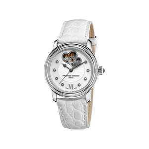Sélection de bijoux et montres en promotion - Ex: Montre Frédérique Constant femme bracelet cuir