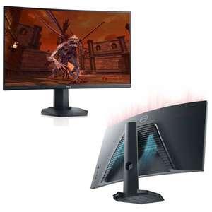 """Écran PC 27"""" Dell S2721HGF - LED, Full HD, 144 Hz, Dalle VA, Incurvé, FreeSync & Compatible G-Sync, Pied réglable"""