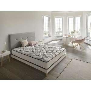 Matelas à mémoire de forme Simpur Relax La France - 140 x 190 cm, Epaisseur 18 cm, Multizone de confort, Soutien ferme (Vendeur Tiers)