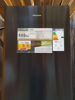 Réfrigérateur combiné Hisense RB434N4AF2 - 331L (235+96), Froid Ventilé, Classe E (Via ODR de 50€) - Basse Goulaine (44)