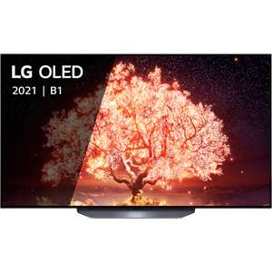 """TV 55"""" LG OLED55B1 - 4K UHD, Dolby Vision, Dolby Atmos, 100Hz, HDMI 2.1,Compatible Google Assistant & Alexa, Apple AirPlay 2"""