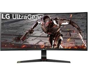 """Écran PC incurvé 34"""" LG UltraGear 34GN73A-B - full HD, HDR10, LED IPS, 144 Hz, 1 ms, FreeSync / G-Sync"""