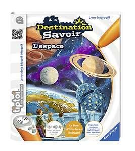 Livre d'aventure interactif Tiptoi - Destination savoir L'espace