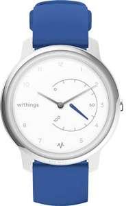 Montre connectée Withings Move ECG - Blanc, Bracelet Bleu
