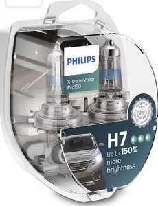 Lot de 2 ampoules auto Philips X-tremeVision Pro150 H7