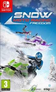 Sélection de jeux et accesoires sur Nintendo Switch , Xbox one et PS4 en promotion - Ex : Snow Moto Racing Freedom sur Nintendo Switch
