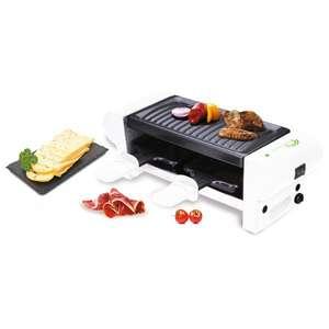 Machine à Raclette et Grill Little Balance - pour 2 personnes, 350W