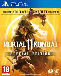 Jeu Mortal Kombat 11 Special Edition sur PS4 (import UK)