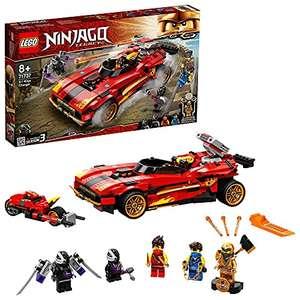 Lego Ninjago 71737 Le Chargeur Ninja X-1 Jouet Automobile et Moto avec Figurine de Cole Golden