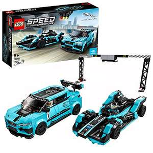 Jouet Lego Speed Champions - Formula E Panasonic Jaguar Racing Gen2 & Jaguar I-Pace Etrophy (76898)