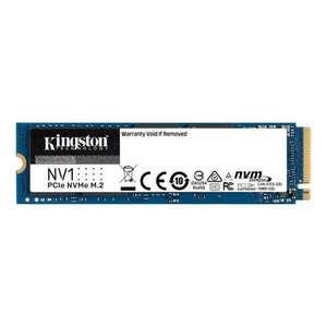 SSD M.2 Kingston NV1 NVMe PCIe 3.0 4x - 1 To (jusqu'à 2100 Mo/s - 1700 Mo/s en lecture et écriture)