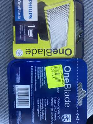 Lame de rasoir pour Philips OneBlade (Longwy 54)