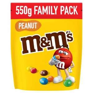 Paquet de m&m's Peanut Family Pack - 550g