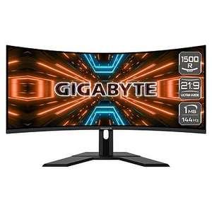 """Écran PC incurvé 34"""" Gigabyte G34WQC - UWQHD, LED VA, HDR 400, 144 Hz, 1 ms, FreeSync / G-Sync"""