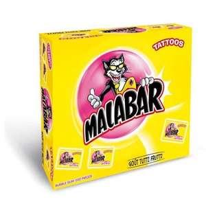 Boite de 200 Bubble-gum Malabar - Divers variétés, 1,34 kg