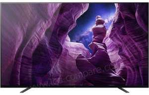 """TV OLED 65"""" Sony KD-65A8 - 4K UHD, 100 Hz, HDR10, Dolby Vision & Atmos, Android TV (Frontaliers Suisse)"""