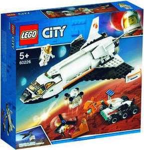 Jeu de construction Lego City - Le Skatepart, La Navette Spatiale ou L'Arrestation en Hélicoptère (Via 5.98€ sur la carte fidélité)