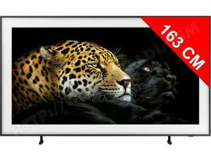 "TV 65"" Samsung The Frame QE65LS03A (2021) - 4K UHD, QLED, Dalle 100Hz, HDMI 2.1, Dual Led, Smart TV (Via ODR 200€)"
