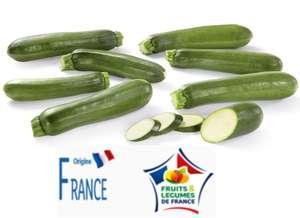 1 kilo de Courgettes - Origine France, Catégorie 1