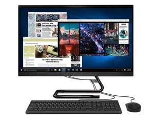 """PC AIO Tout-en-1 Lenovo IdeaCentre 3 27IMB05 - Ecran 27"""", i5-10400T, 8 Go RAM, 512 Go SSD, Windows 10, Noir"""