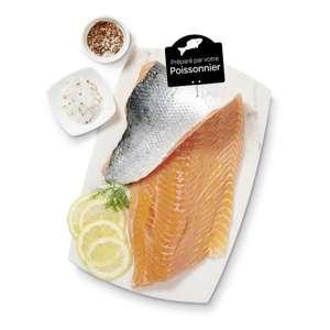 Pavé de saumon Atlantique - le kg (Origine Norvège)