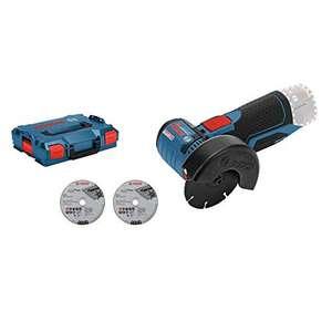 Meuleuse d'angle sans fil Bosch GWS 12V-76 + Coffret Lboxx + 3 disques - sans batterie, ni chargeur (via coupon)