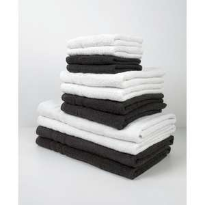 Lot de 10 Serviettes de bain Today - 100% coton