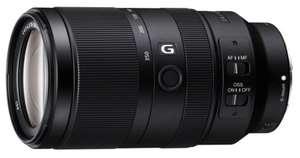 Objectif Sony APS-C SEL70350G - 70-350 mm, F4.5-6.3, Monture E