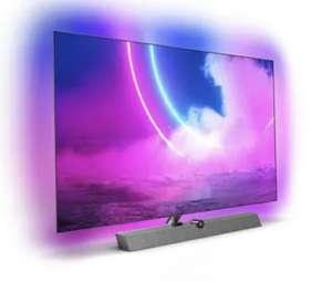 """TV 65"""" Philips 65OLED935 - OLED, 4K UHD, Smart TV, Barre de son intégré, Ambilight 4 Côtés (+100€ en RP)"""