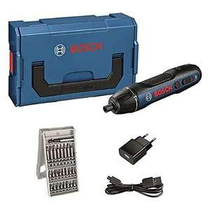 Visseuse sans-fil Bosch Professional Go 2.0 + set de 25 embouts de vissage, câble de charge, coffret L-Boxx Mini