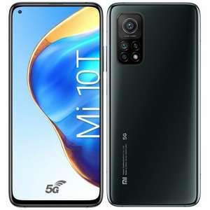 "Smartphone 6.67"" Xiaomi Mi 10T 5G - Full HD+, Snapdragon 865, 6 Go RAM, 128 Go, noir (via ODR 100€)"