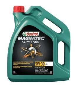 Bidon d'huile moteur Castrol 5W-30 Magnatec Stop Start A5 - 5L (C2 à 24,51€)
