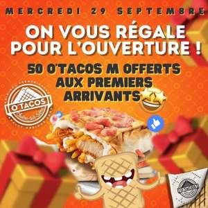 1 Tacos M offert pour les 50 premiers clients - Chalon-sur-Saône (71)